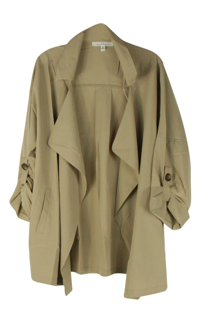 Intriguing Jacket in Light Brown