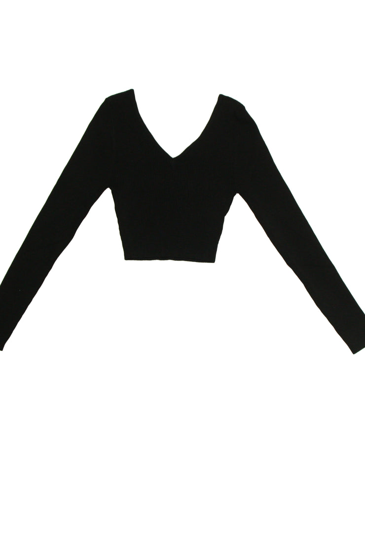 At Ease Top in Black