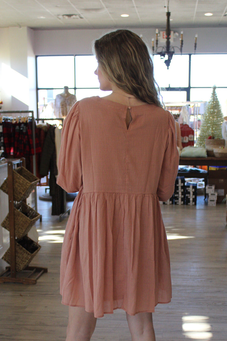 Sophistication Dress in Pink