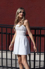 Heidi Dress in Off White