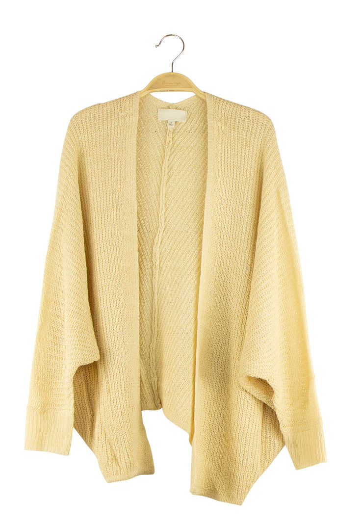 True Intentions Cardigan in Light Brown