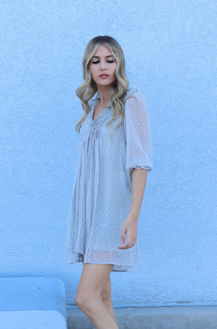Felicity Dress in Grey