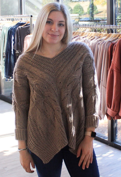 Total Essence Sweater in Brown