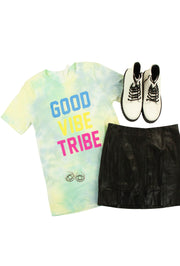 Good Vibe Tribe Tie-Dyed Tee