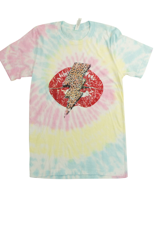 #Everything Tee with Spiral Tie-Dye