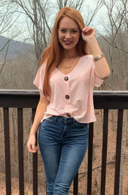Rizzo Top in Light Pink