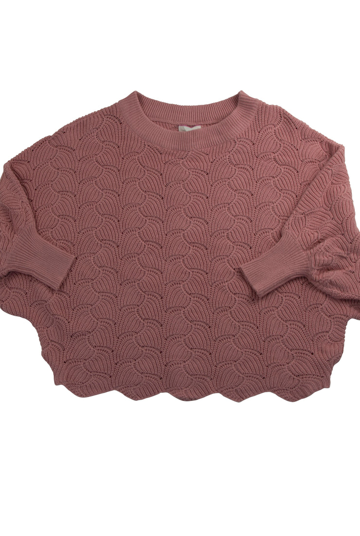 Step Out of Your Shell Sweater in Pink