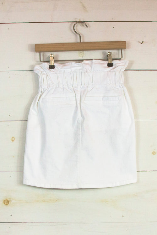 My Bag of Tricks Skirt in White