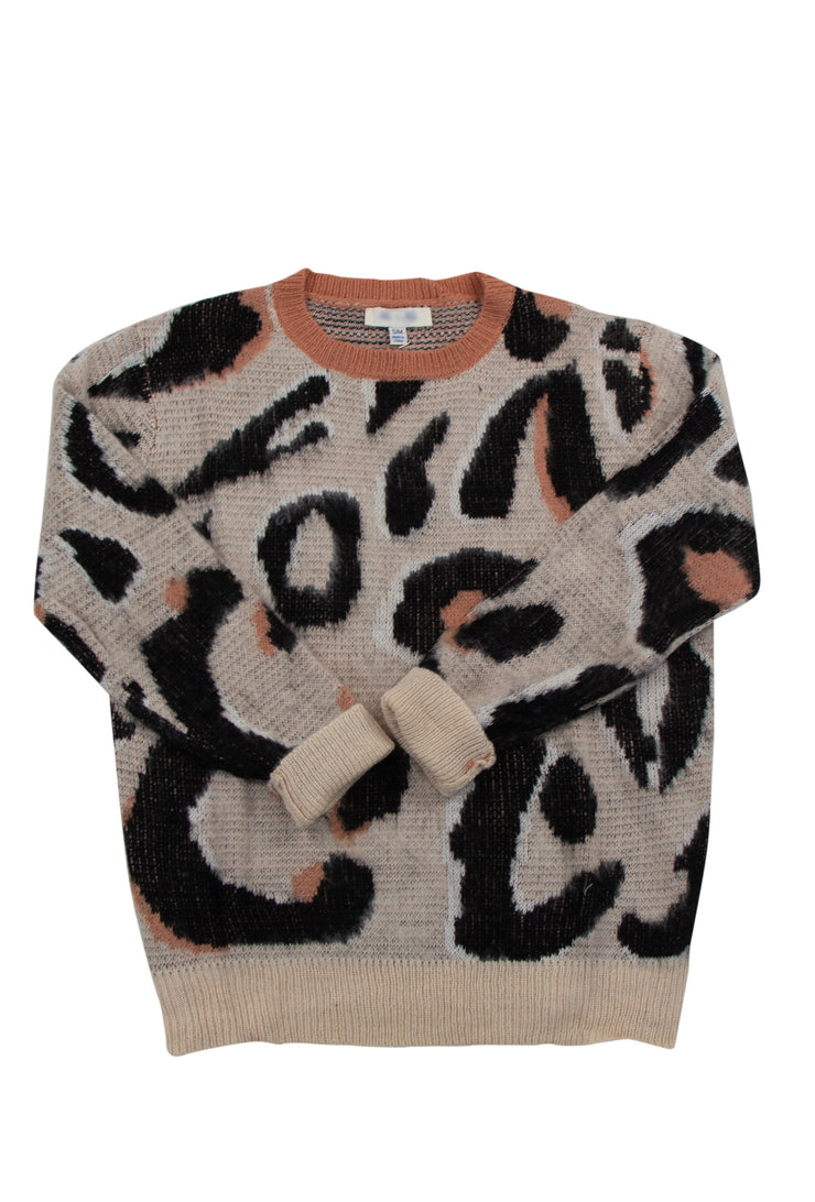 Purrfect Sweater in Off White