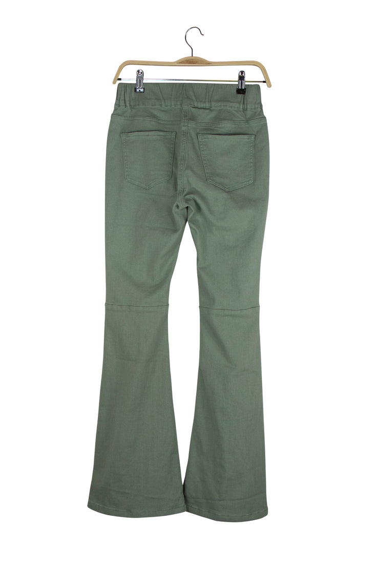 Fashionista Flares in Green