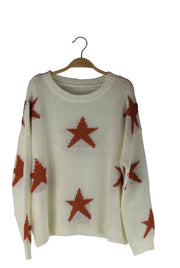 Super Star Sweater in Tan