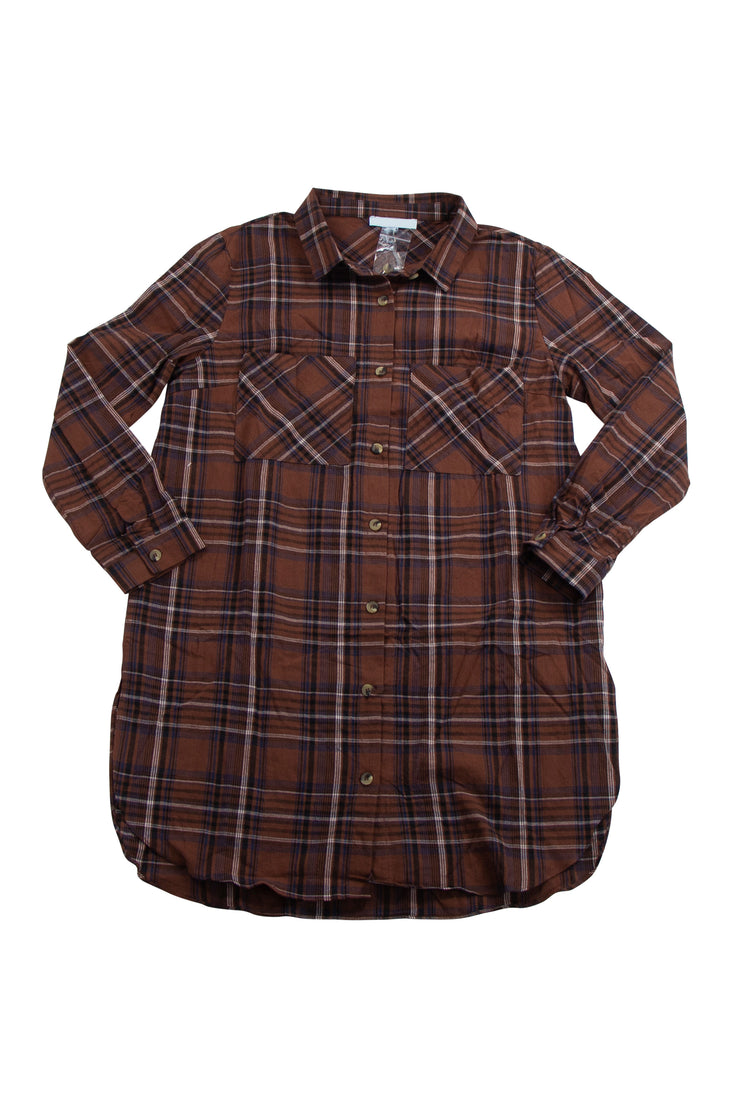 Checkmate Top/Mini in Brown