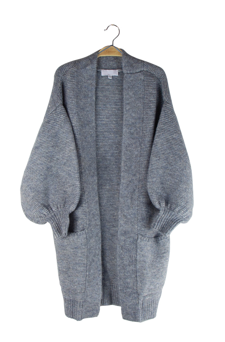 Nestle Cardigan in Gray