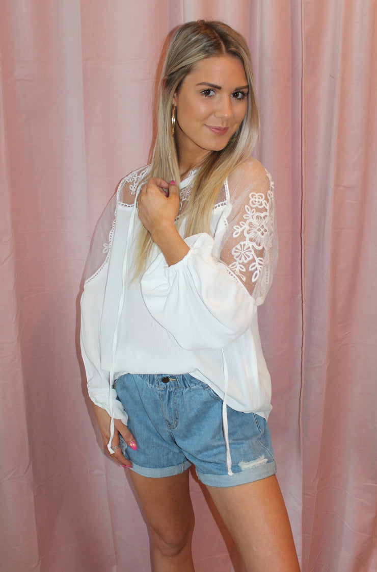Boundless Top in White