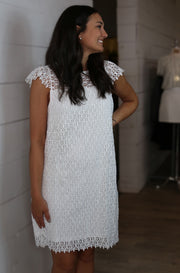 Rise and Shine Dress in White