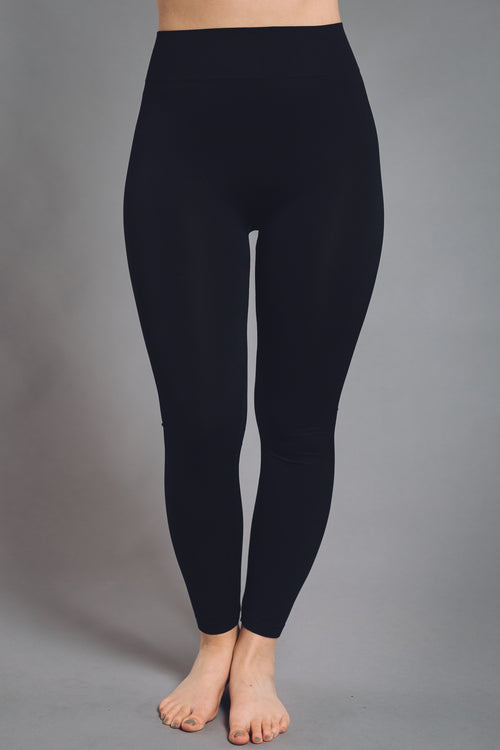Basic Leggings Brown & Black