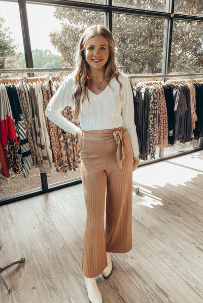 Move Gracefully Pants in Brown