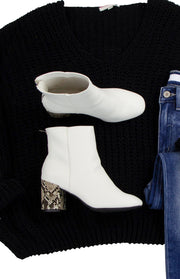 Always on Trend Booties in White