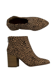 All Day Everyday Booties in Cheetah
