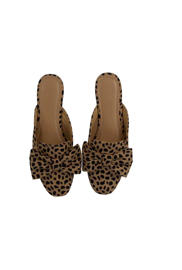 One Step At a Time Mules in Cheetah