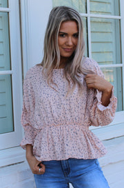 Wren Top in Pink