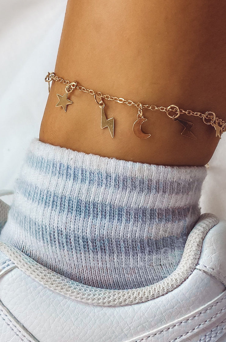 Galaxy Bracelet/Anklet in Gold