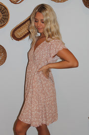 Dawn Dress in Pink