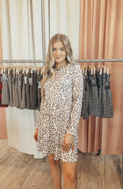 Work It Girl Mini in Leopard Print