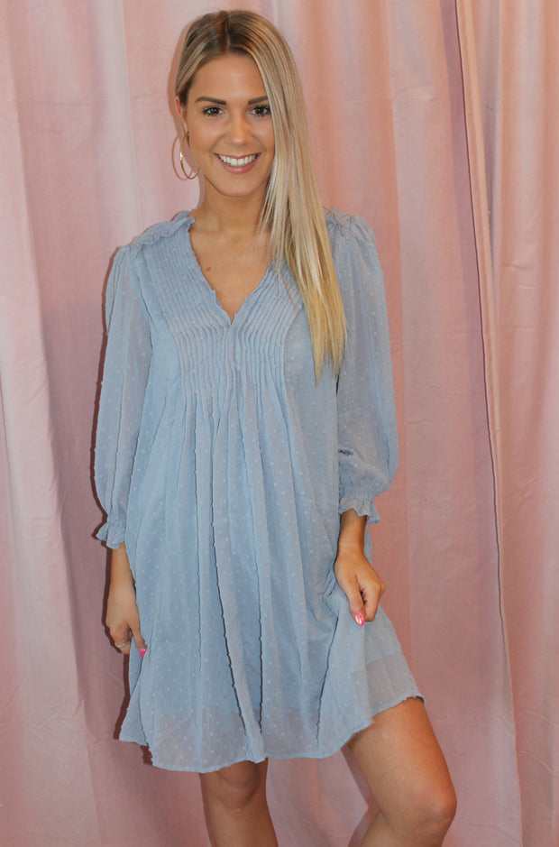Felicity Dress in Blue