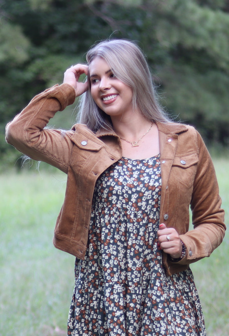 Effortless Jacket in Brown