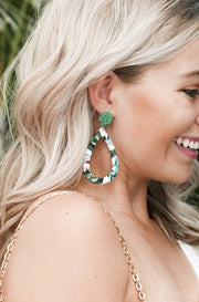 Adventure Earrings in Green