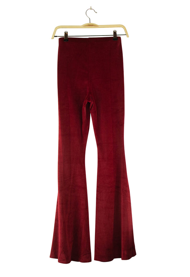 For the Fun of It Pants in Dark Red
