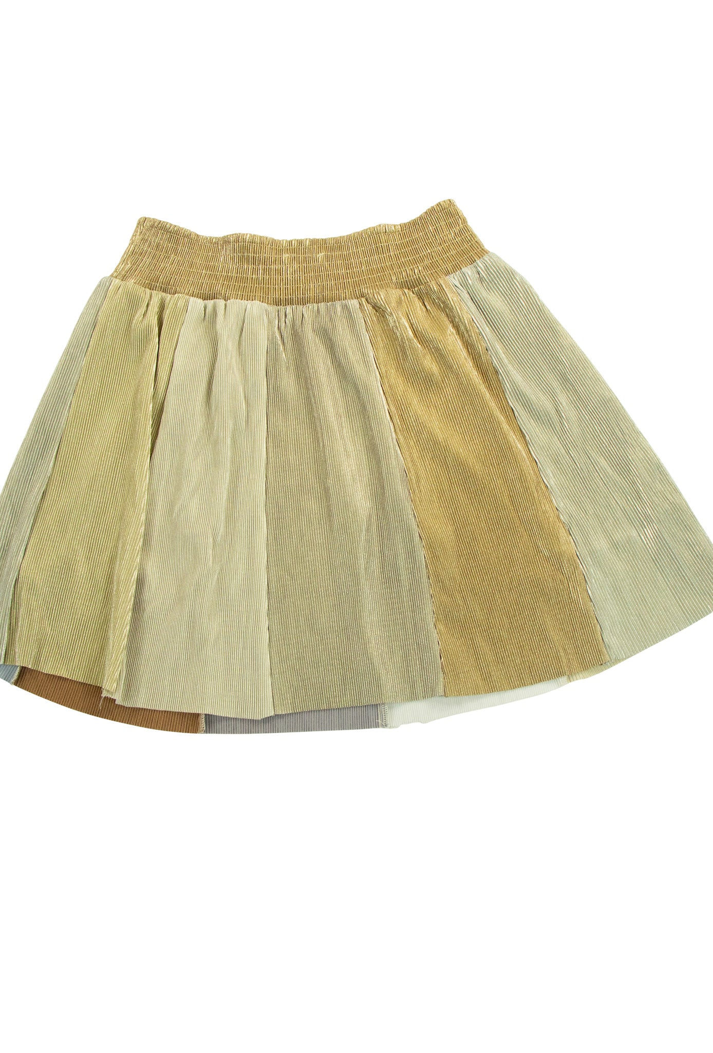 Main Event Skirt in Gold