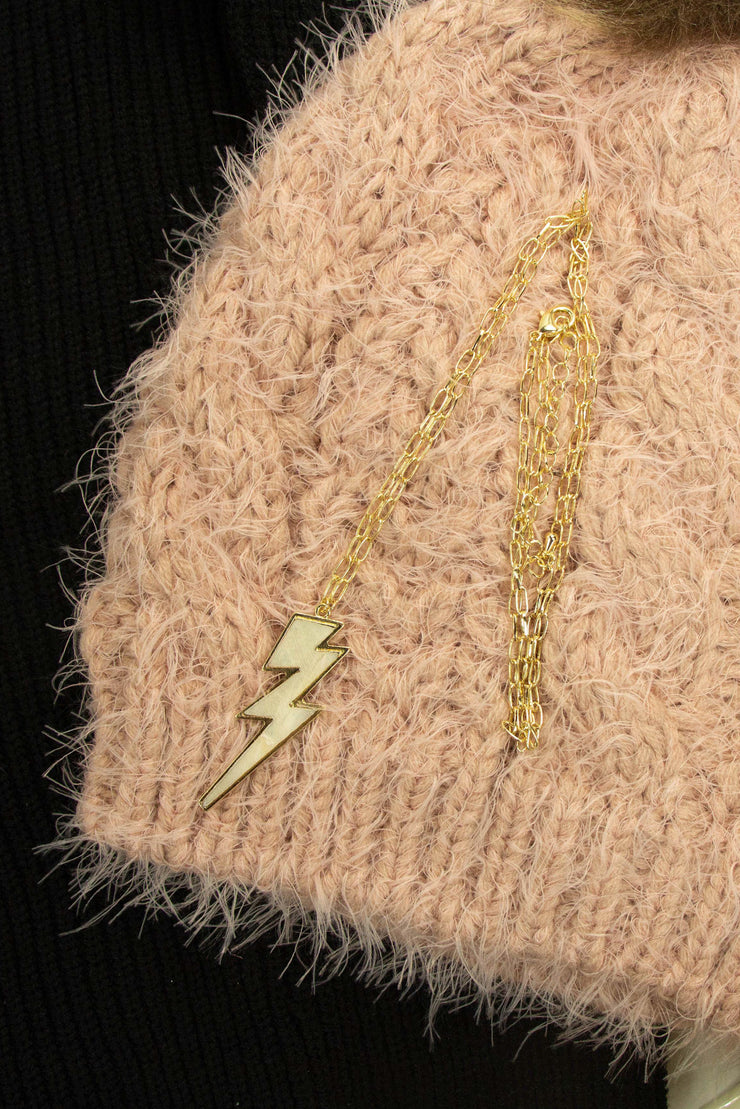 High Voltage Necklace in Gold