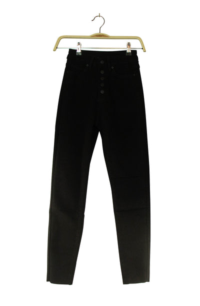 Button up a Notch Jeans in Black