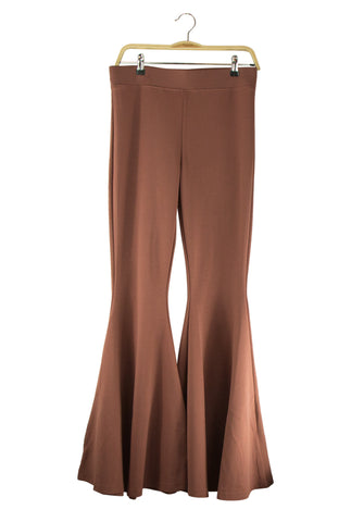 Unwind Pants in Brown Snake Print