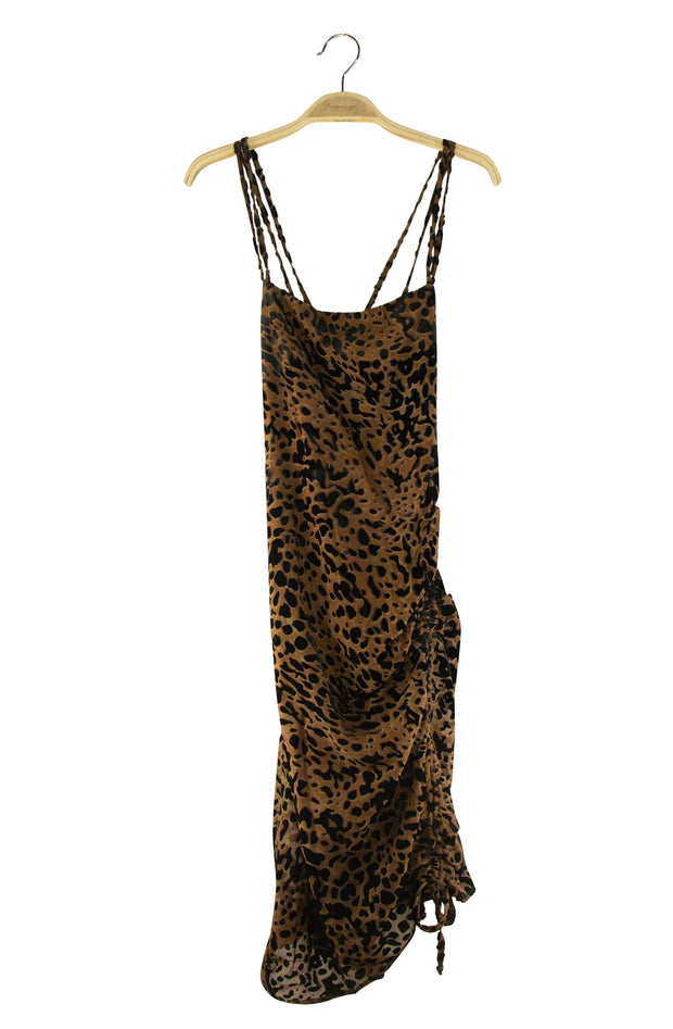 Total Savage Dress in Cheetah Print