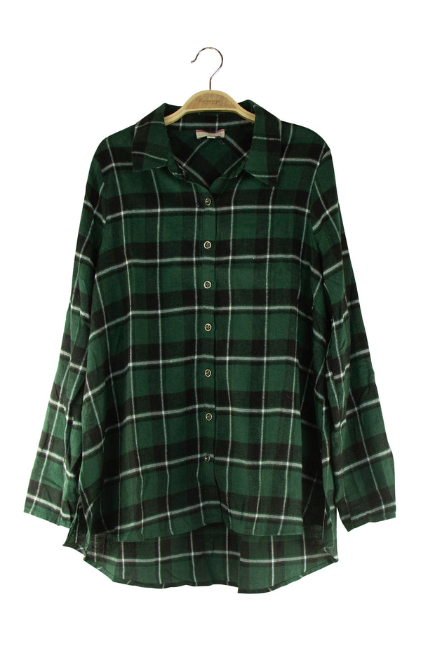 Flannery Top in Dark Green