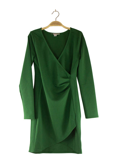 Holly Dress in Dark Green