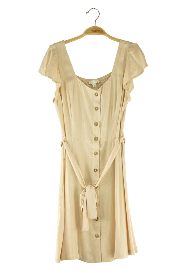 Spring Has Sprung Dress in Tan