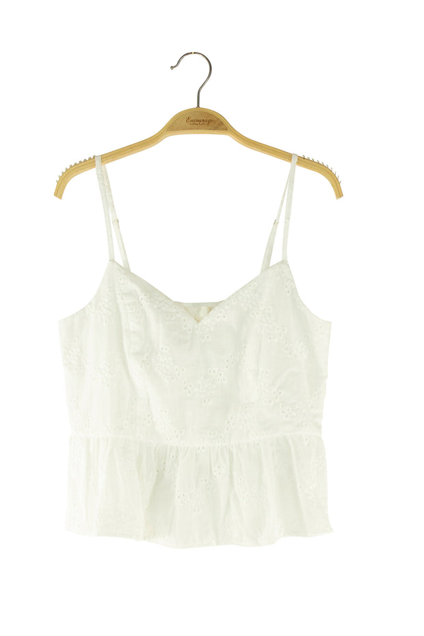 Precocious Top in White