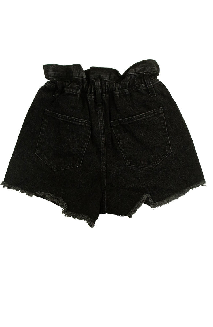 Gathering Shorts in Black