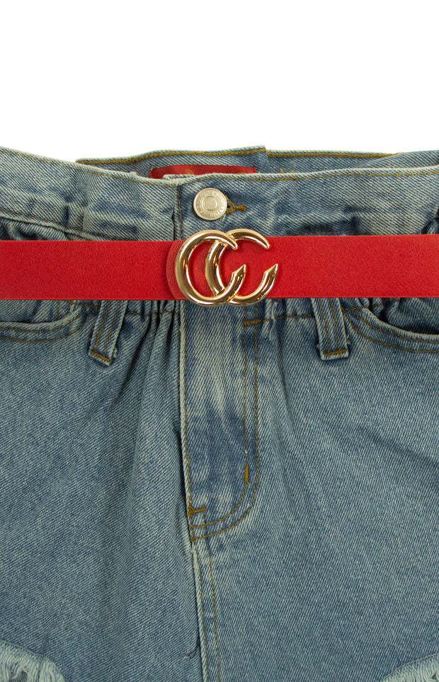 Total G Belt in Red