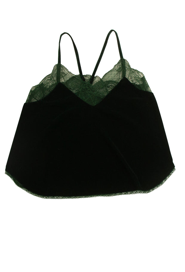 Assuage Cami in Dark Green
