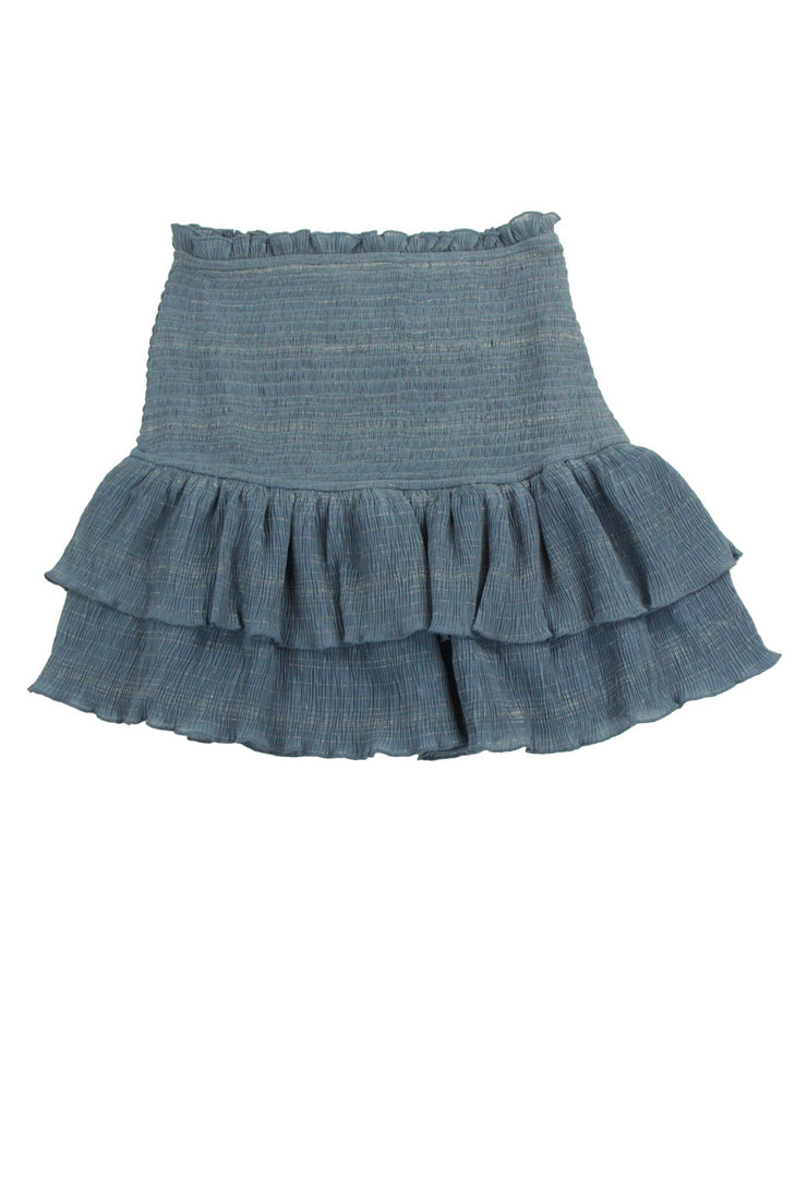 Buzzworthy Skirt in Blue