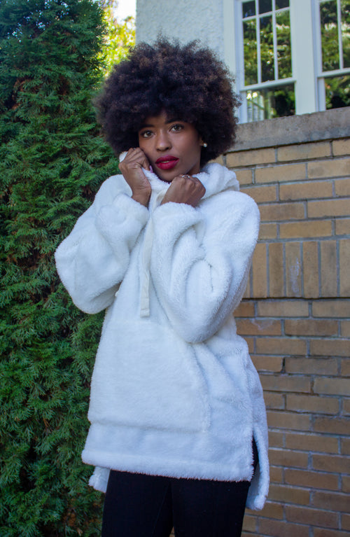 Winter Wonderland Sherpa in Off White