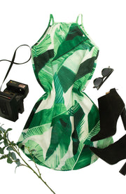 Tropics Dress in Green