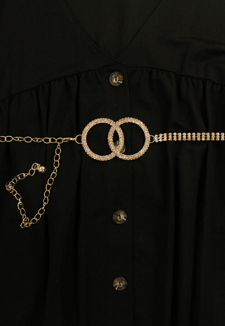 Conjoined Belt in Gold