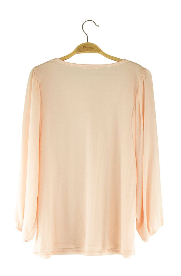 Fairytale Top in Light Pink