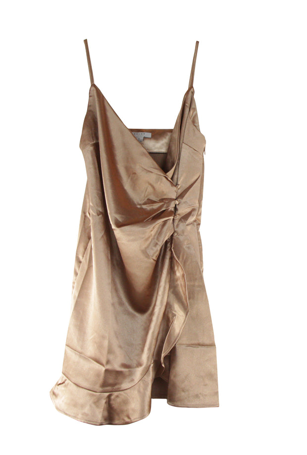 Gold Mine Dress in Brown